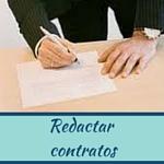 Redactar contratos