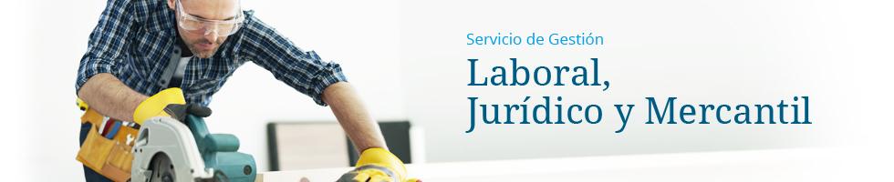 Gestión laboral, jurídica y mercantil